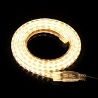 SKLED Water Resistant 4.8W 220lm 3500K 120-SMD 3014 LED Warm White Light Strip (AC220V / 1m)