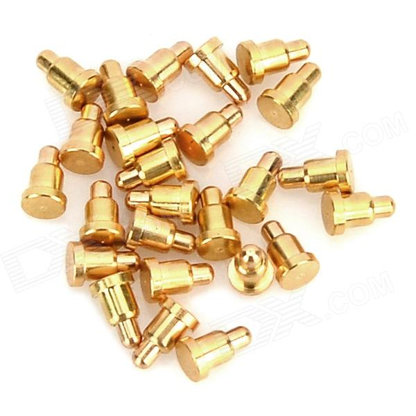 LSON 2.0*3.2MM Current Pogo Pin Probe - Golden (25 PCS) lson r50 2s soldering probe golden 100 pcs