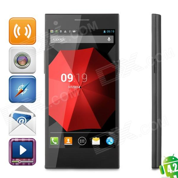 ThL T11 Octa-core Android 4.2.2 WCDMA Bar Phone w/ 5.0 IPS, Wi-Fi, GPS and NFC + OTG Function m pai 809t mtk6582 quad core android 4 3 wcdma bar phone w 5 0 hd 4gb rom gps black