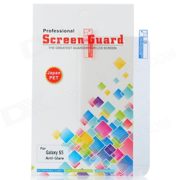 Protetora Matte PET Screen Guard Film para Samsung Galaxy S5 - Transparente