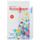 Protective Matte PET Screen Guard Film for Samsung Galaxy S5 - Transparent