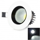 XIANQIN X-TH-C-03-003-Z 3W 270lm 6000K 1-LED COB White Ceiling Lamp - White (AC 100~240V)