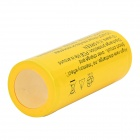 FANDYFIRE 5000mAh 26650 3.7V Li-ion Rechargeable Battery - Yellow