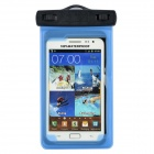 WP-320 Universal Waterproof Bag for Samsung / HTC / LG / IPHONE - Blue