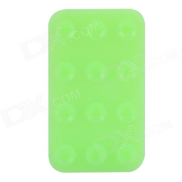 V10 Silicone Suction Cup Anti-Slip Pad for Cell Phone - Powder Green