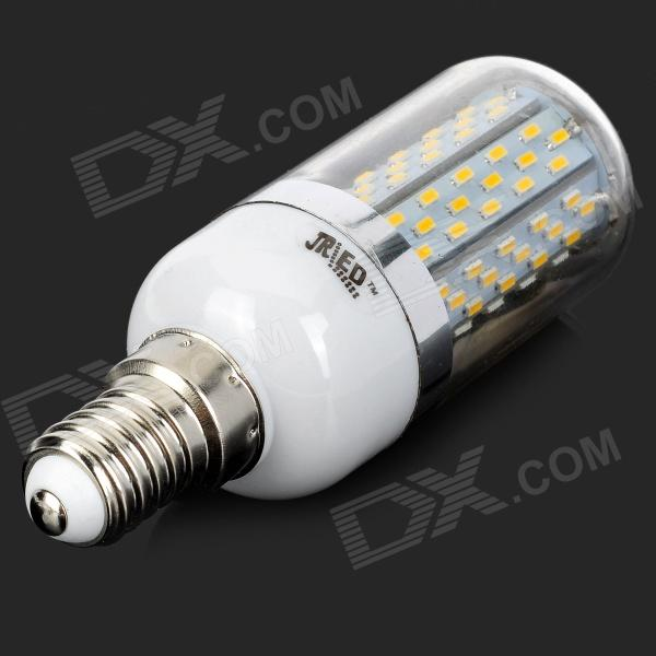 jrled jr led e14 8w 3014 smd e14 8w 550lm 120 3014 smd warm white bulb free shipping dealextreme. Black Bedroom Furniture Sets. Home Design Ideas