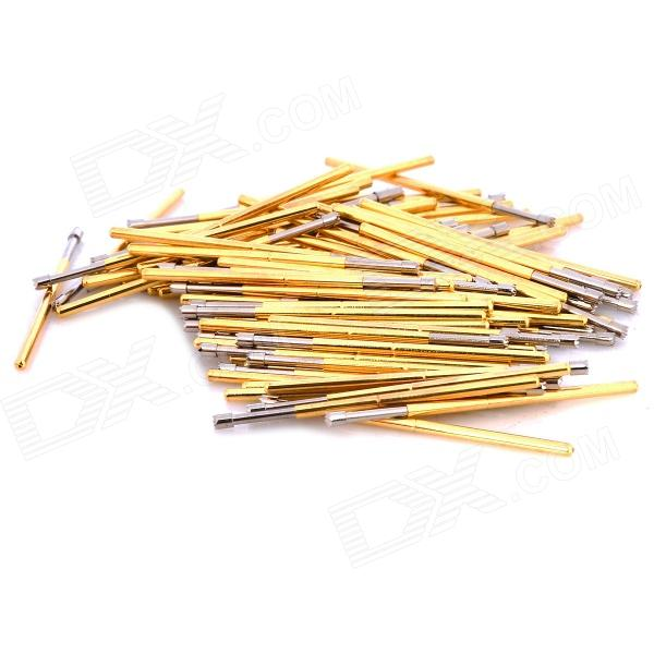 LSON P100-H Copper Soldering Probe - Golden (100 PCS) lson r50 2s soldering probe golden 100 pcs