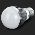 JRLED E27 5W 370lm 3300K 10-5630 SMD LED Warm White Light Bulb - White + Silver (AC 85~265V)