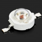 10W 40lm 655nm 10-LED R-2 Red Light Bulb - Branco (2.2 ~ 2.4V / 10PCS)