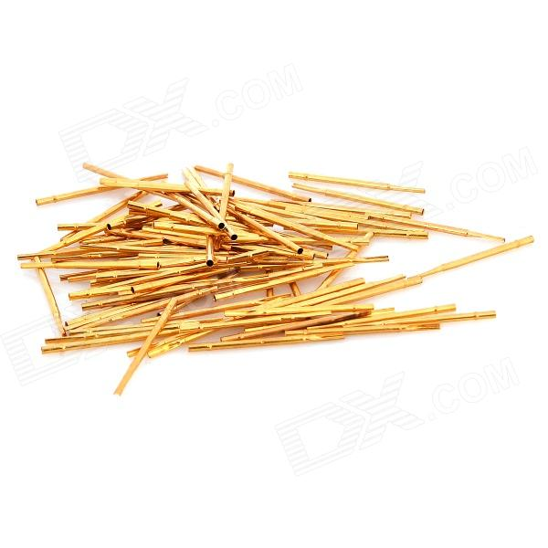 LSON R50-2s Soldering Probe - Golden (100 PCS) lson r50 2s soldering probe golden 100 pcs