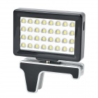 Mobile Phone Digital LED Video Light - Black + Silver