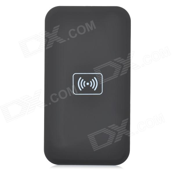 02A QI Standard Mobile Wireless Charger - Black k7 universal qi standard mobile wireless power charger black