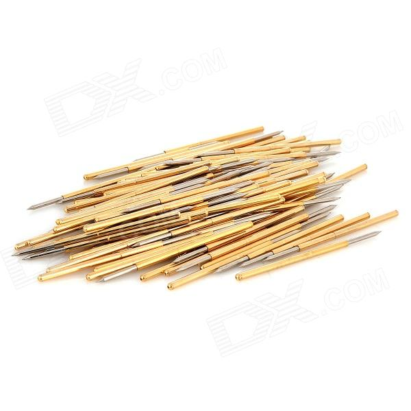 LSON P100-B Copper Probe - Golden (100 PCS) lson r50 2s soldering probe golden 100 pcs
