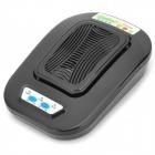 CM-898 4W 12V Car Plasma Air Purifier w/ Charger - Black