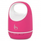 S05C Mini 3W Bluetooth V3.0 Speaker w/ 3.5mm / Micro USB / Mic / TF - Pink + White (16G Max.)