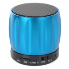 S13 Portable 3W Bluetooth V2.0 / V2.1 Speaker w/ Mic / TF / Mini USB - Blue + Black