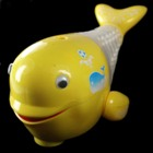 Walking Whale and Turning Ball Toy Yellow