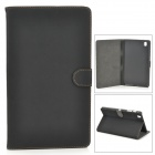 Buy Protective Flip-open PU Leather Full Body Case Samsung Galaxy Tab Pro 8.4 T320 - Black