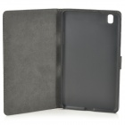 Protective Flip-open PU Leather Full Body Case for Samsung Galaxy Tab Pro 8.4 T320 - Black