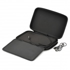 "Universal Protective PU Leather + ABS Inner Bag Pouch w/ Speaker for 7"" Tablet PC - Black"