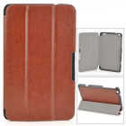 Protective PU Leather Case w/ Stand / Magnetic Closure for LENOVO MIIX2 8 - Brown