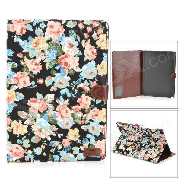 Patterned Flip Open PU Leather Case w/ Stand / Card Slots for 12.2'' Samsung Galaxy Note 3 Pro P900 protective flip open pu leather case w stand card slots for samsung galaxy note 10 1 p600