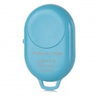 Wireless Bluetooth V3.0 Selfie Remote Shutter for IPHONE / Samsung + More - Blue