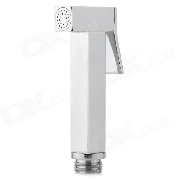 PHASAT A2020 Handheld Chrome-plated Copper Bidet Spray Gun - Silver rolya wholesale thermostatic faucet valve 38 degress temperature muslim handheld shattaf shower portable toilet bidet spray