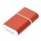 Y2210 OTG Micro USB 480Mbps TF / Micro SD Card Reader - Red (4GB)