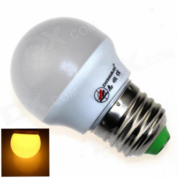 ZHISHUNJIA E27 3W 220lm 3000K 6 x SMD 5630 LED Warm White Light Lamp Bulb - White (AC 85~265V)