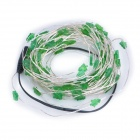 Christmas Tree Style 6W 420lm 100-SMD 0603 LED Green Light Decoration String (DC 12V / 10m)
