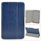 Protective PU Leather Case w/ Stand / Magnetic Closure for LENOVO MIIX2 8 - Deep Blue