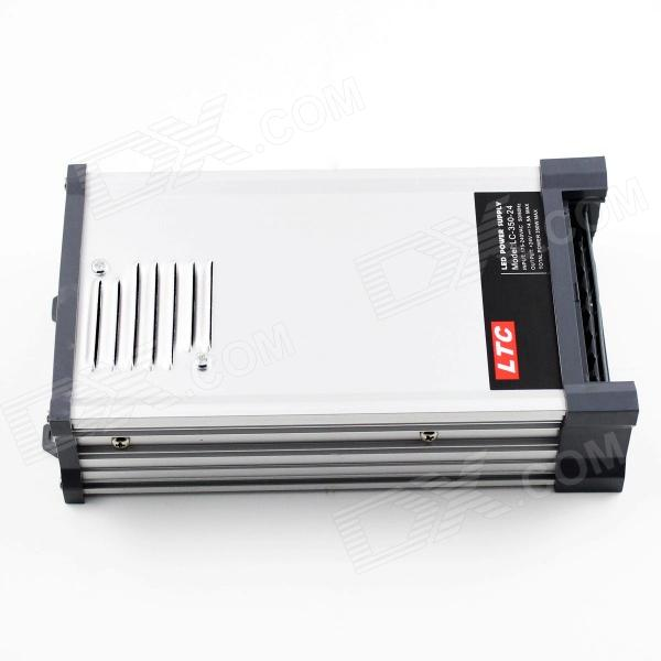 LTC LC-350-24 Rainproof AC 180~250V to DC 12V 29.2A 350W Switching Power Supply - Silvery + Black ltc lc 300 5 rainproof ac 180 250v to dc 5v 60a 300w switching power supply silvery black