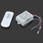 Intelligent Wireless Remote Control Switch - White + Black
