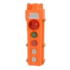 COB 62H (B) Rainproof Hoist Push Button Switch - Orange + Black
