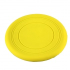 Pet's Dog Cat Toy Silicone Frisbee - Golden Yellow