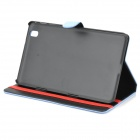 Protective PU Leather Full Body Case Cover for Samsung Galaxy Tab Pro 8.4 T320 - Blue
