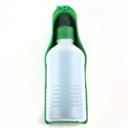 Packed Folding Portable Pet Water Bottle - Green (300mL)