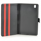Protective PU Leather Full Body Case for Samsung Galaxy Tab Pro 8.4 T320 - Black