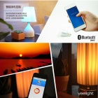 Yeelight Bluetooth V4.0 Control E27 6W 500lm 6-LED Warm White + RGB Smart Bulb for IOS / Android