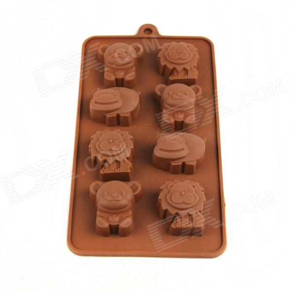 Small Animal Ice Cube Chocolate Mold - Coffee (Size M) home intelligent fully automatic american style coffee machine drip type small is grinding ice cream teapot one machine