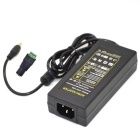 60W 12V 5A Power Supply AC Adapter w/ 5.5 x 2.1mm DC Adapter - Black