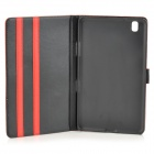 Protective PU Leather Full Body Case for Samsung Galaxy Tab Pro 8.4 T320 - Orange