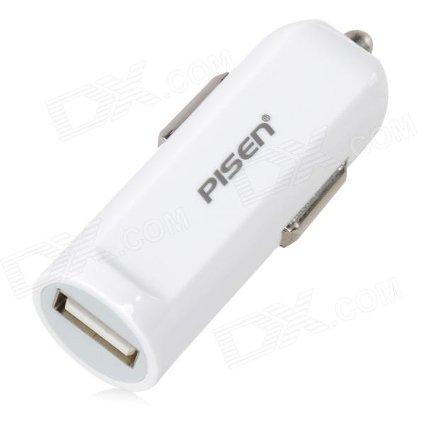 caricabatterie PISEN TS-D036 5V 2A auto accendisigari per IPHONE - bianco