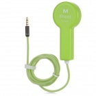PC Selfie Shutter Release Control Cable for IPHONE 4 / 4S / 5 / 5S / 5C - Grass Green