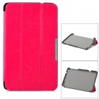 Protective PC Case w/ Stand for Lenovo Miix2 8 - Dark Pink