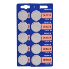 Sony 3V CR2032 Lithium Ion Button Cell - Silver (10 PCS)