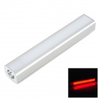 9a T50 5V 8000mAh Li-ion Polymer Battery Power Bank w/ LED Flashlight - Silver White