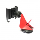 CHOYO 2258-AM 360 Degree Rotation Car Mount Suction Cup Holder for Cell Phone - Black + Red