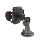 FLY 2116-C 360 Degree Rotation Car Mount Suction Cup Air Outlet Holder for Cell Phone - Black